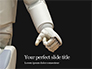 White Robot Hand Presentation slide 1
