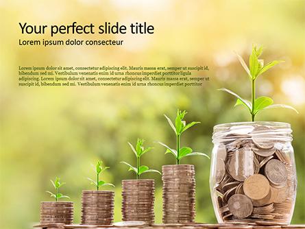 Money Growth Concept Presentation Presentation Template, Master Slide
