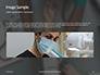 Doctor Taking Pulse of Patient Presentation slide 10