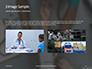 Doctor Taking Pulse of Patient Presentation slide 12