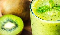 Fresh Juice Made from Kiwi Fruit Presentation Presentation Template