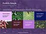 Water Drops on Purple Leaf Presentation slide 17