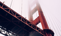 The Golden Gate Bridge From Below Presentation Presentation Template