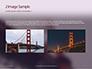 The Golden Gate Bridge From Below Presentation slide 11