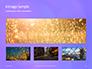 Purple Defocused Lights Background Presentation slide 13
