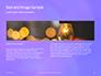 Purple Defocused Lights Background Presentation slide 14