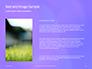 Purple Defocused Lights Background Presentation slide 15