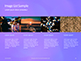Purple Defocused Lights Background Presentation slide 16