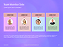 Purple Defocused Lights Background Presentation slide 18