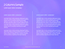 Purple Defocused Lights Background Presentation slide 5