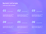 Purple Defocused Lights Background Presentation slide 8