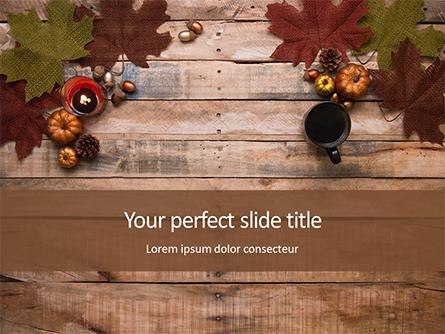 Autumn Pumpkin Decoration Presentation Presentation Template, Master Slide