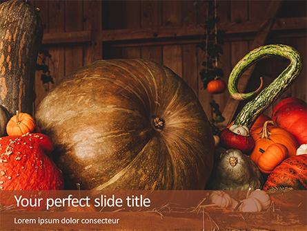 Still Life with Pumpkins Presentation Presentation Template, Master Slide
