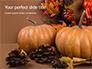 Still Life Harvest with Pumpkins and Gourds for Thanksgiving Presentation slide 1