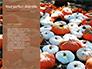 Still Life Harvest with Pumpkins and Gourds for Thanksgiving Presentation slide 9