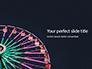 Ferris Wheel at Night Presentation slide 1
