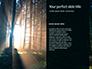 Spooky Night Shot of Tree in Fog Backlit by Streetlight Presentation slide 9
