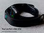 Smart Watches and Fitness Bracelet Presentation slide 1
