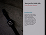 Smart Watches and Fitness Bracelet Presentation slide 9
