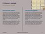Nine Yellow Sticker Notes Presentation slide 5