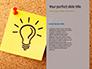 Nine Yellow Sticker Notes Presentation slide 9