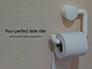 Roll of Toilet Paper in The Holder Presentation slide 1