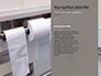 Roll of Toilet Paper in The Holder Presentation slide 9