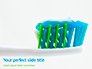 Toothbrush with Toothpaste Presentation slide 1