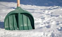 Green Snow Shovel Presentation Presentation Template