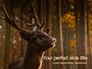 Brown Deer Portrait Presentation slide 1