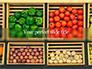 Assorted Vegetables on Brown Wooden Crates Presentation slide 1