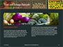 Assorted Vegetables on Brown Wooden Crates Presentation slide 14