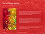 Glowing Red Glitter Texture Background Presentation slide 15