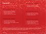 Glowing Red Glitter Texture Background Presentation slide 2