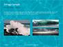 Blue Water Ripple Background Presentation slide 12