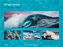 Blue Water Ripple Background Presentation slide 13