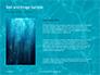 Blue Water Ripple Background Presentation slide 15