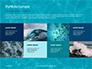 Blue Water Ripple Background Presentation slide 17