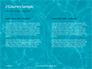 Blue Water Ripple Background Presentation slide 5