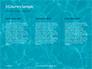 Blue Water Ripple Background Presentation slide 6