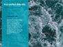 Blue Water Ripple Background Presentation slide 9