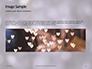 Silver Sparkling Lights Festive Background Presentation slide 10