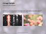 Silver Sparkling Lights Festive Background Presentation slide 11