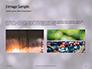 Silver Sparkling Lights Festive Background Presentation slide 12
