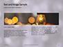Silver Sparkling Lights Festive Background Presentation slide 14