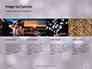 Silver Sparkling Lights Festive Background Presentation slide 16