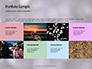 Silver Sparkling Lights Festive Background Presentation slide 17