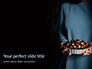 Woman Holding Nut Cake Presentation slide 1