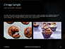 Woman Holding Nut Cake Presentation slide 11