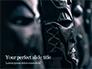 African Masks Presentation slide 1